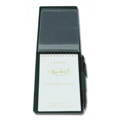 Waterproof Notebook in A6 Hard Cover with 6 Pockets & Pencil