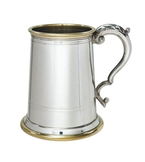 Windsor Metal Bottom Pewter Tankard