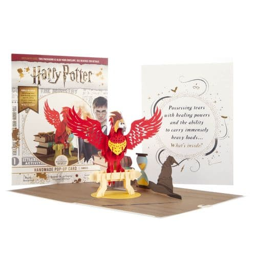 Harry Potter Fawkes 3D Pop-Up Card