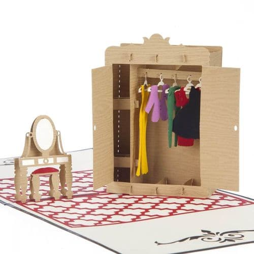 Fashion Lover 3D Pop-Up Card