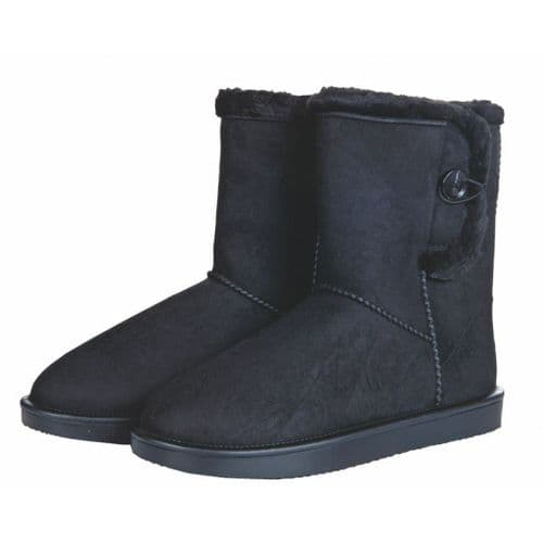 All-weather boots -Davos Button Fur-