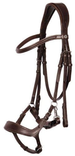 Anatomical Bridle with Clip Release