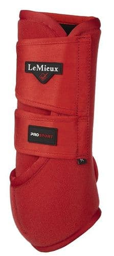 Coral Red Support Boots