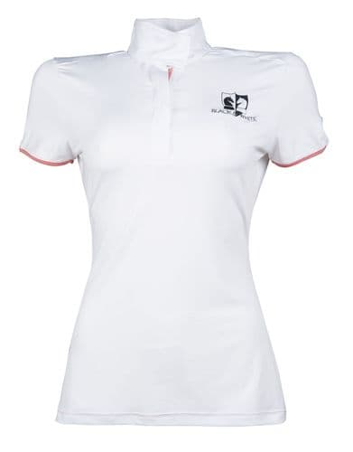 HKM Competition shirt -Black & White-