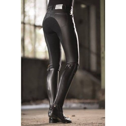 Riding breeches -Piemont Coated- 3/4 Alos seat