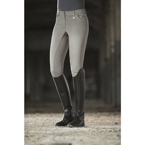 Riding breeches -Piemont Jeggings- sil. full seat