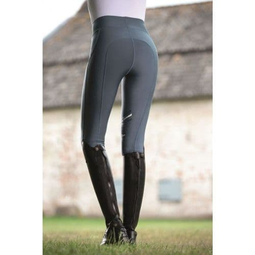 Riding leggings -Elemento- silicone knee patch