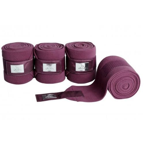 SD® GEM COLLECTION FLEECE BANDAGES IN RUBY.