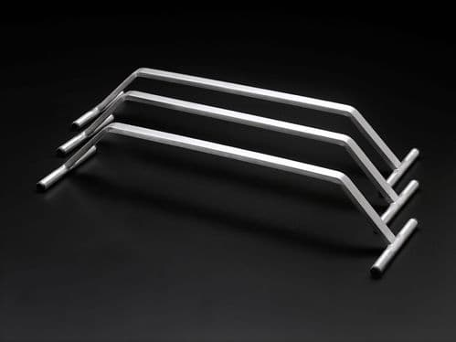 Stainless steel hanging rail