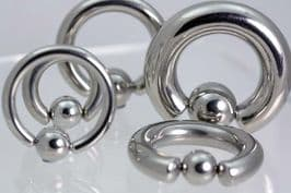 BCR Rings 316 Surgical Stainless Steel