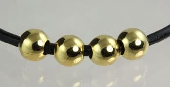 SPACER BEAD GOLD 6MM from 0.5p each