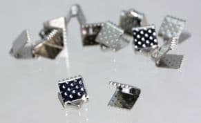 TEXTURED CAP ENDS 6X6MM from 0.5p each