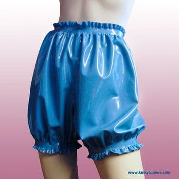 Frilled Latex Bloomers