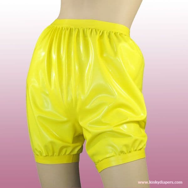 High Cut Latex Bloomers - KINKY DIAPERS