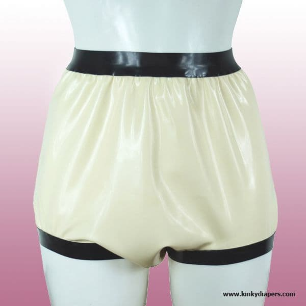 Latex Brief Wide Cut