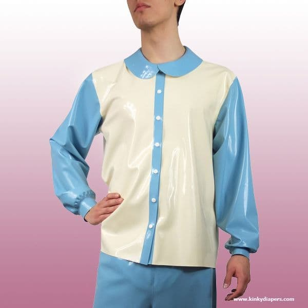 Latex Pyjama Shirt  -  KINKY DIAPERS