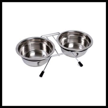 Petface Stainless Steel Double Diner Medium
