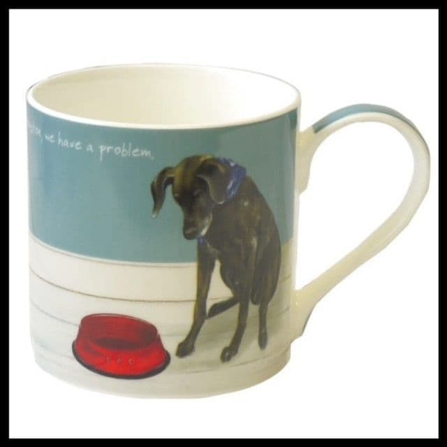 Pointer- We have a Problem Bone China Mug