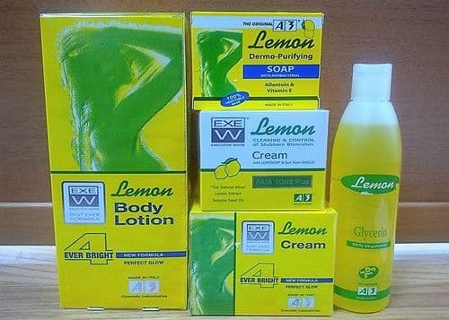 A3 Lemon 4 Ever Bright Skin Lightening Products