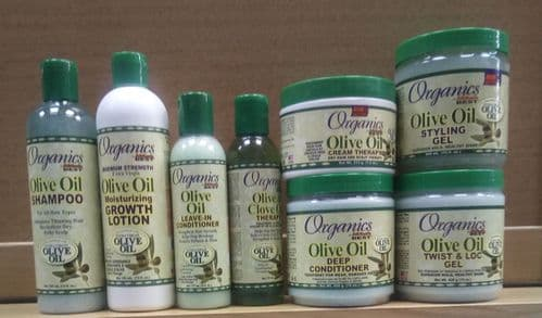 Africa's Best Organics Olive Oil Hair Products
