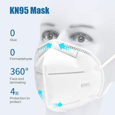 KN95 - Daily Personal Protective Products, Anti-Pollen, dust-Proof, hygienic Protective Products wit
