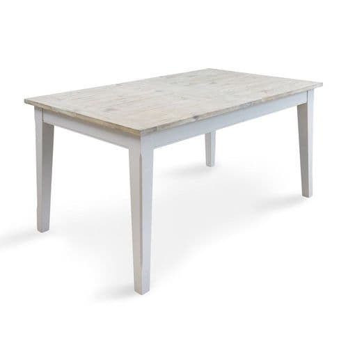 New England Signature Grey Extending Dining Table