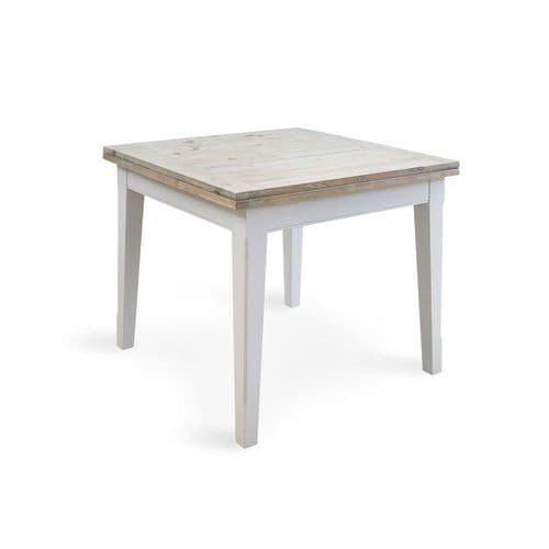New England Signature Grey Square Extending Dining Table