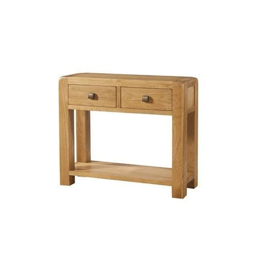 Eaton LARGE CONSOLE 2 DRAWER AND SHELF