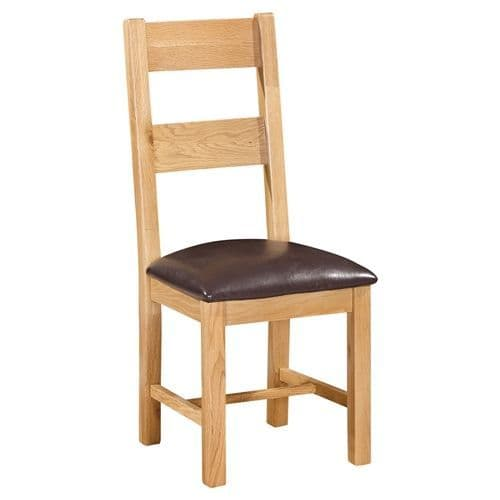 Elworth 2 RAIL CHAIR WITH PU SEAT