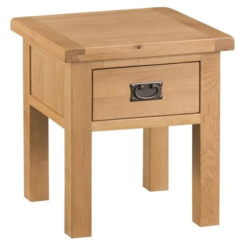 Oakham Country Lamp Table with Drawer