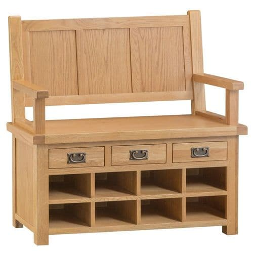 Oakham Country Monks Bench