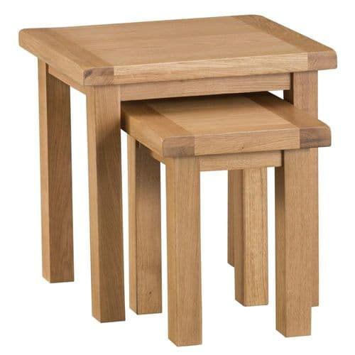 Oakham Country Nest of 2 Tables