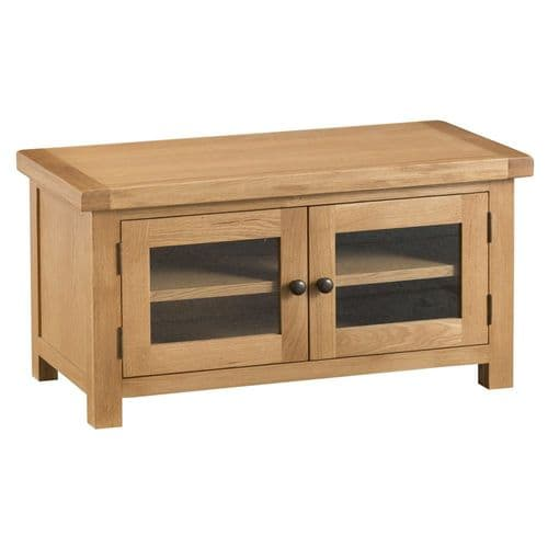 Oakham Country Standard TV Unit with Glass Doors
