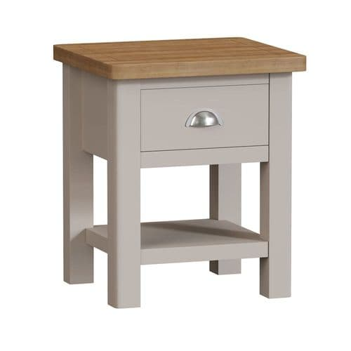 Ramsbottom Painted 1 Drawer Lamp Table