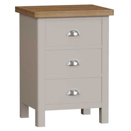 Ramsbottom Painted 3 Drawer Bedside