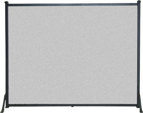 Plain Flat Fire Screen