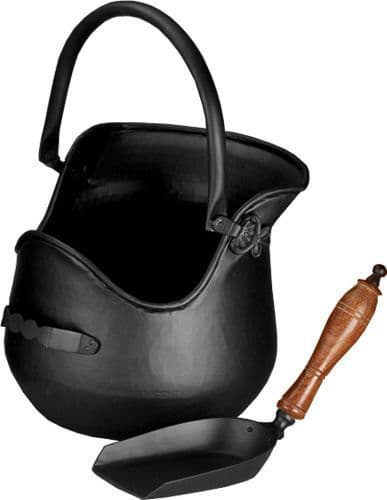 Plealey Coal Bucket & Shovel - Hods | Thefiresideshop.co.uk