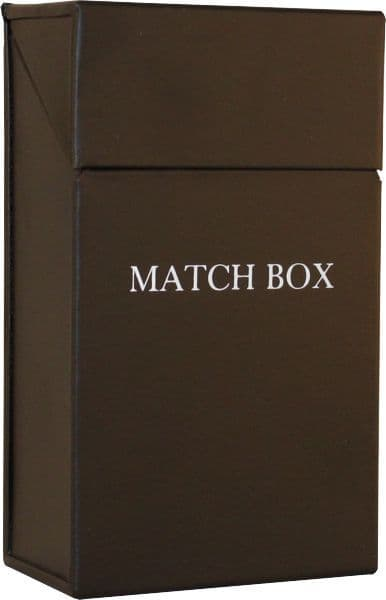 Printed Match Box Holder