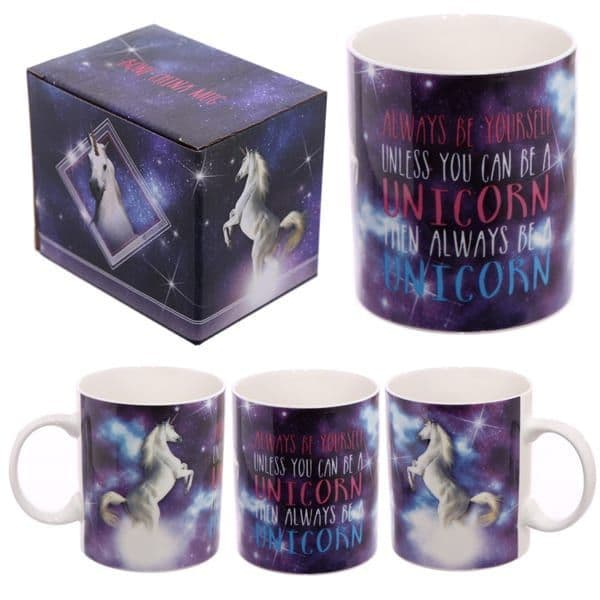 Always be a unicorn tea mug