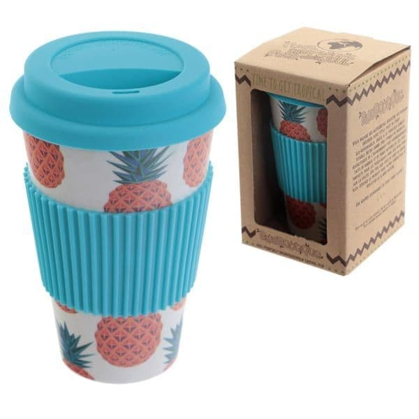 Eco Friendly Pineapple Travel Mug