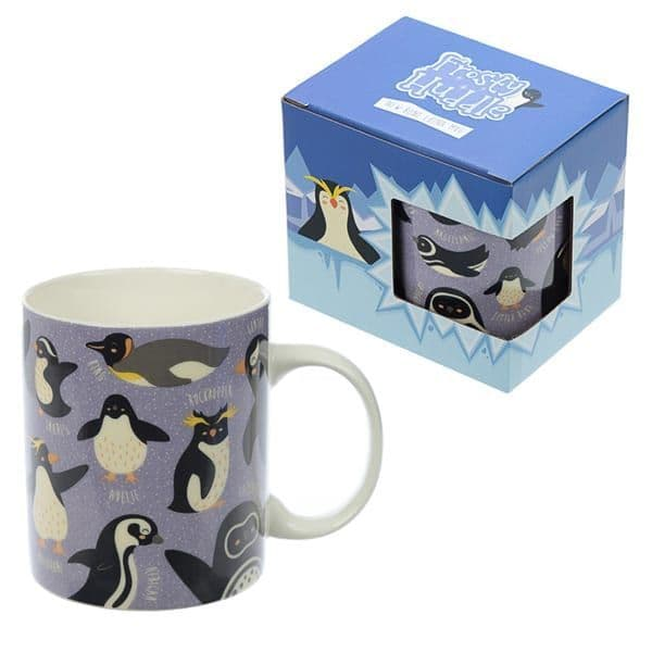 Penguin huddle Tea Mug