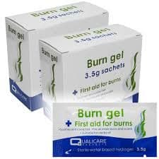 Burn Gel Sachet  Box 25