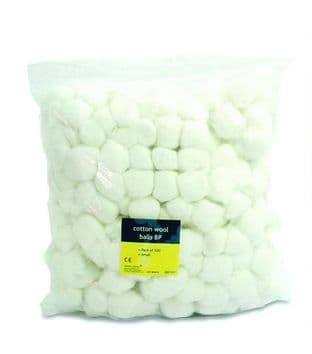 Cotton Wool Balls BP Small Pack 500