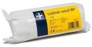 Cotton Wool BP 100G Roll