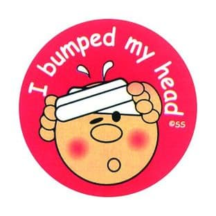 I Bumped My Head Stickers Pack 25