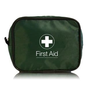 PCV First Aid Kit in Green Bag