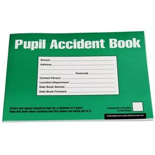 Pupil Accident Report Book (A5)