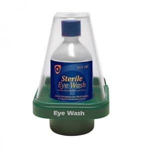 Single 500ml Eyewash Station With Dustcover