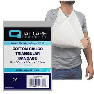 Triangular Bandage Calico Cotton