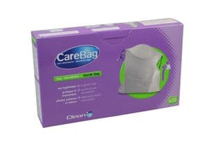 Vomit Bags - Care Bag With Absorbent Inner Pack 20